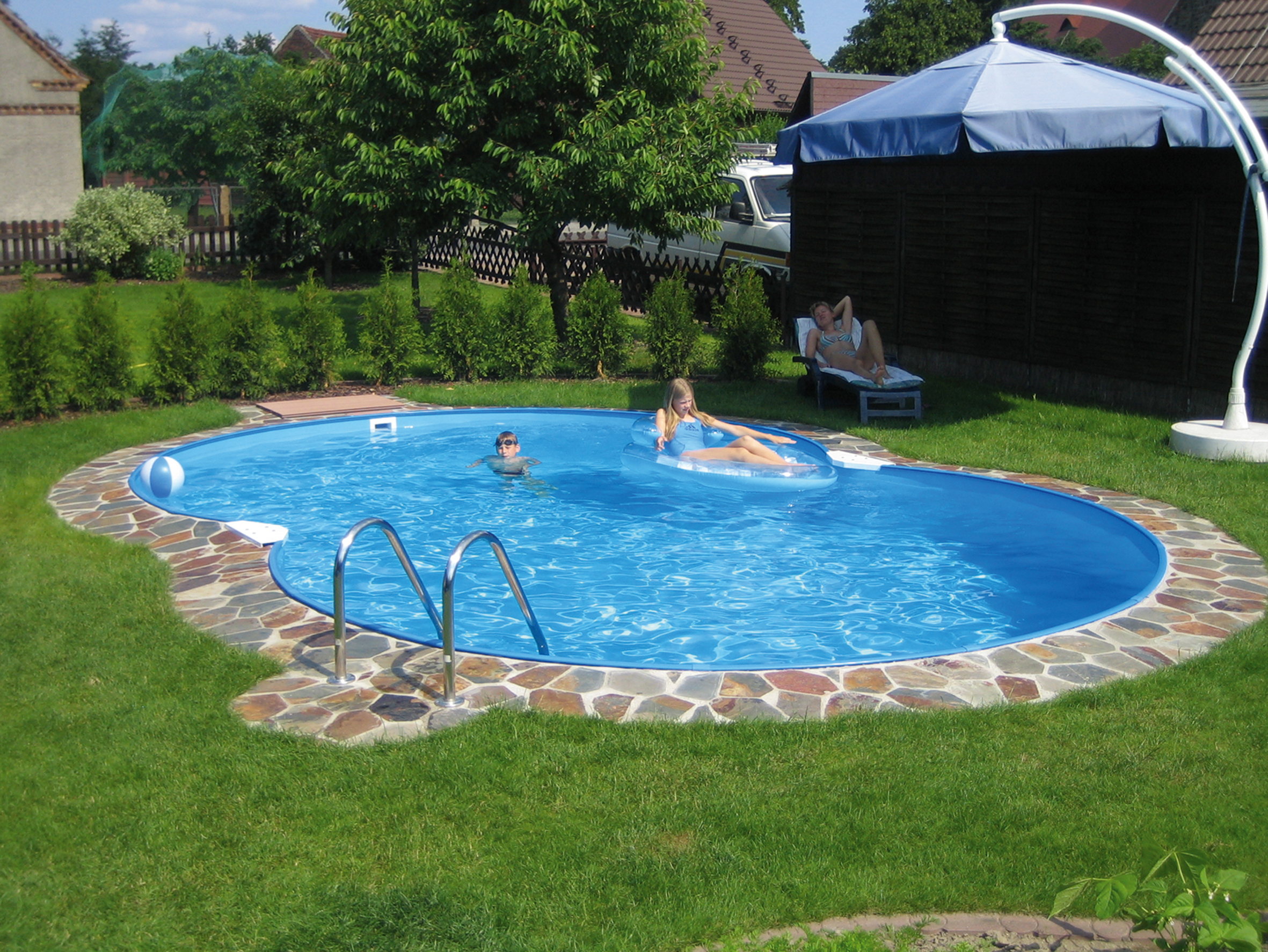 Pool layout plan best layout room for Backyard inground pool ideas